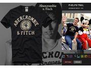 Louis vuitton,  gucci,  g-star,  polo ralph lauren,  A&F t-shirts
