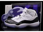Air Jordan XI Retro Concords shoes at mybestshoe.com